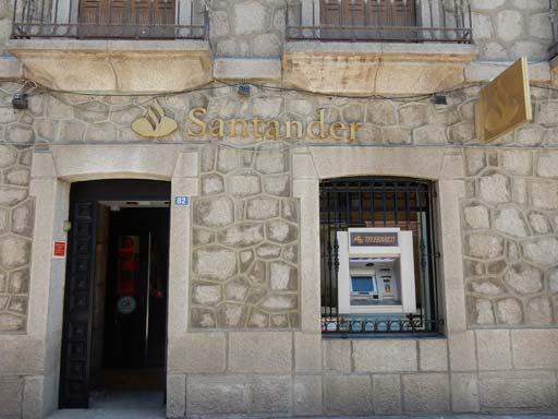 Opcionatm turismo lozoyuela navas sieteiglesias for Santander cajeros madrid